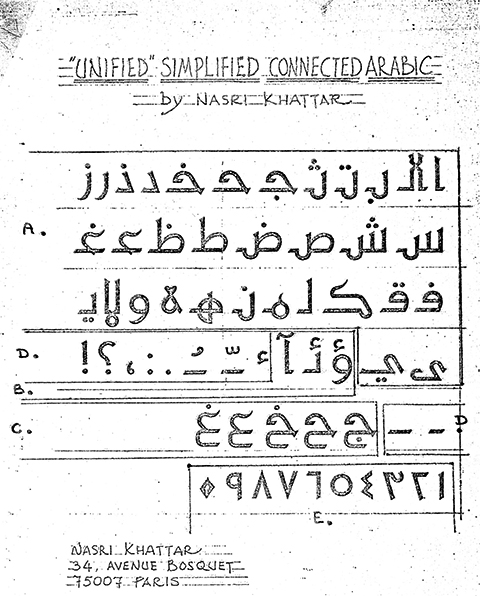 UA Kufic Patent in 1978 in France.