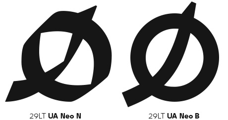 Ha' Glyph in both UA Neo N & B