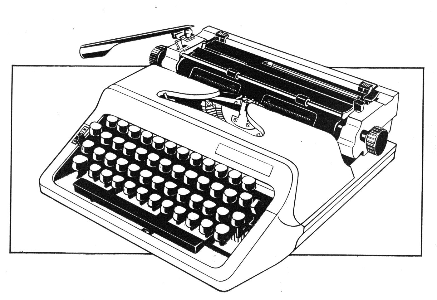 Optima Typewriter Image 01 small BW