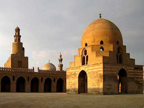 Ahmad Ibn Tulun Mosque in Cairo, Egypt.