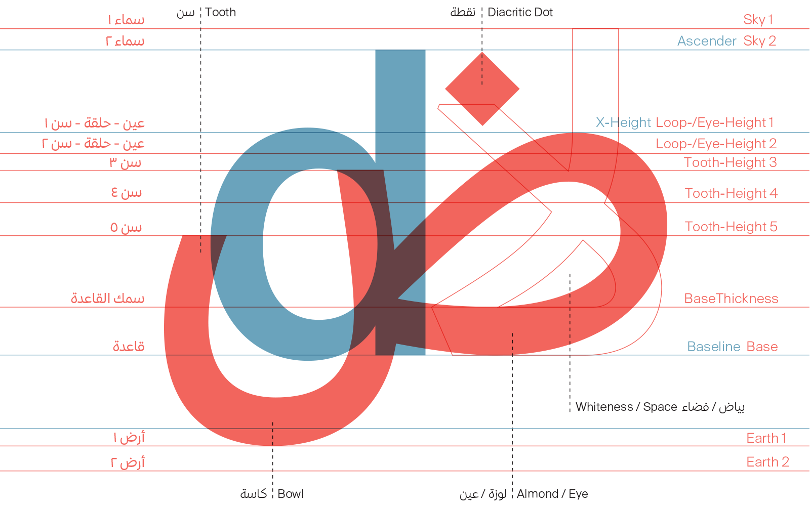 Arabic Type Anatomy & Typographic Terms – 29LT BLOG